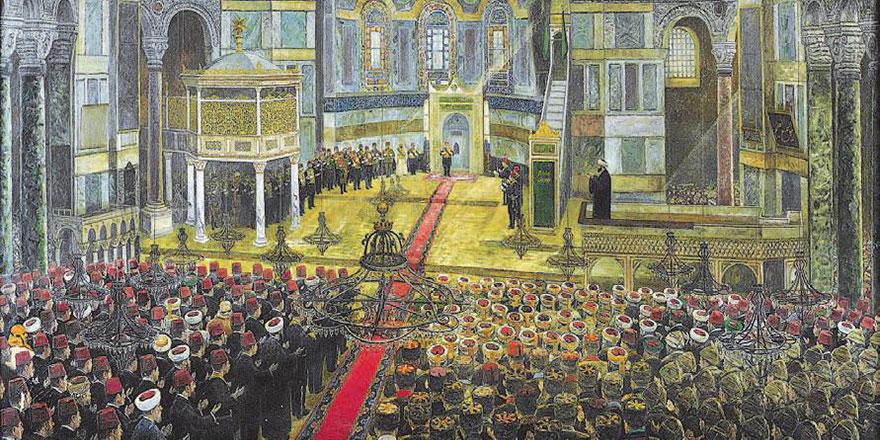 Ayasofya'da ilk namaz 567 yıl önce bugün kılındı