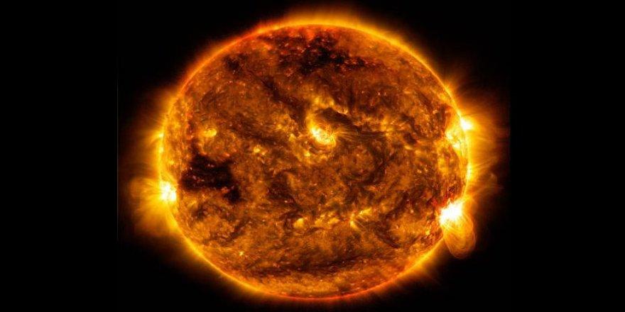 Güneş'te son yılların en güçlü patlaması meydana geldi