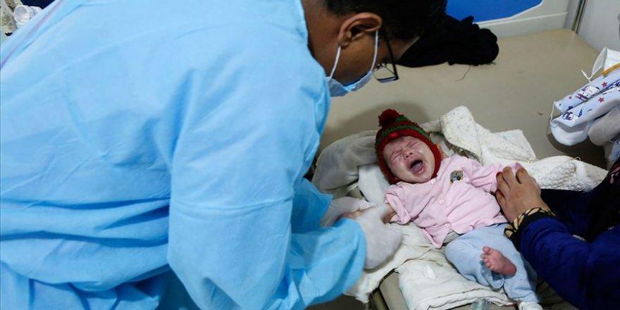 Yemen'de 23 binden fazla çocuk bulaşıcı hastalıklara karşı aşılandı