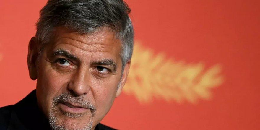 Hollywood yıldızı Clooney: Amerika'da ırkçılığın aşısı 400 yıldır bulunamadı!