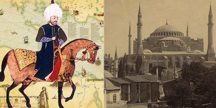 Hz. Muhammed'in (asm) doğumunu müjdeleyen gece Ayasofya'nın kubbeleri yıkıldı