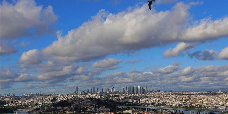Marmara Bölgesi'nde parçalı ve az bulutlu hava hakim olacak