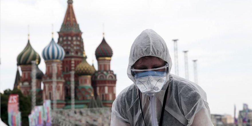 Rusya'da Kovid-19'a yakalanan kişi sayısı 634 bini aştı