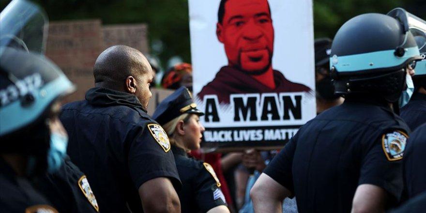 ABD'de 'George Floyd' protestolarında ülkedeki en geniş katılımlı eylem yapıldı