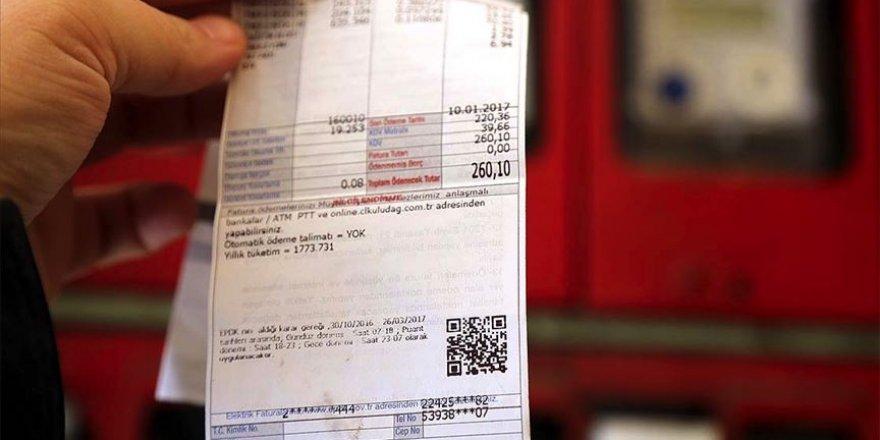 Elektrik faturalarına özel bir işaret yer alacak