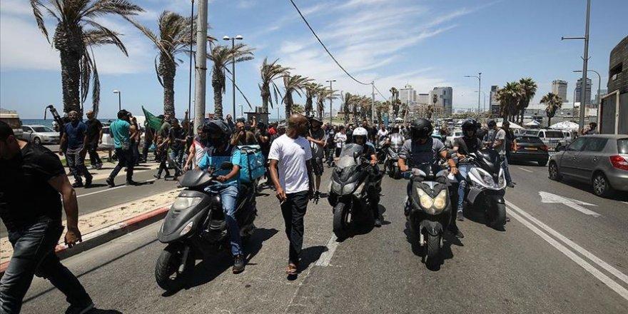 Hükümete Kovid-19 yaptırım yetkisi veren yasa İsrailliler tarafından protesto edildi