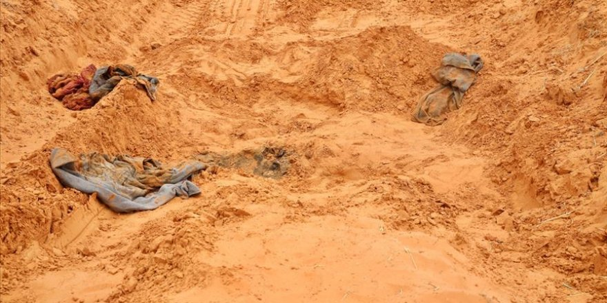 Libya ordusu 190 ceset buldu