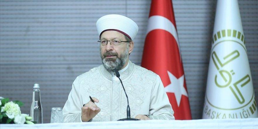 Diyanet İşleri Başkanı Erbaş'ın 'Yaratılış Kongresi' açıklaması