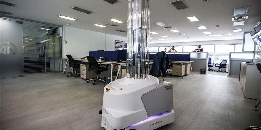 Türkiye'de virüslerle mücadelede robotlu dönem başlıyor