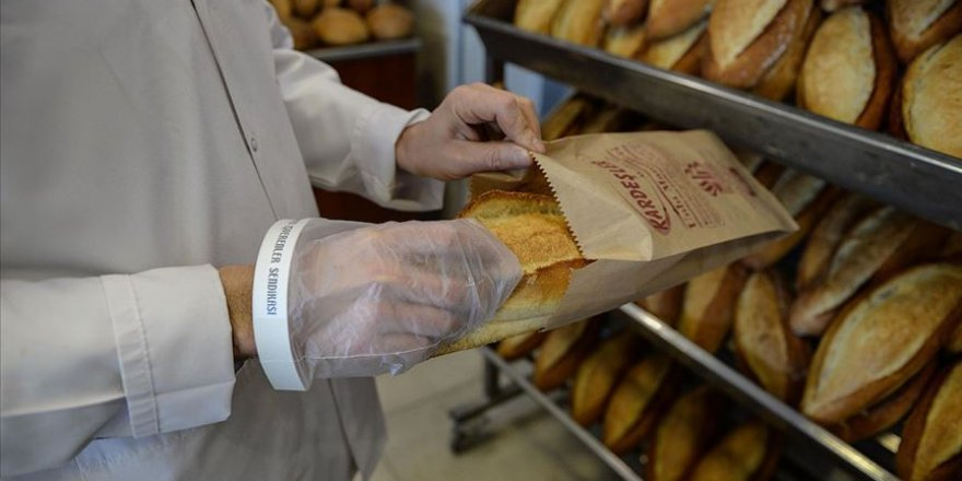 İstanbul'da salgın döneminde ekmek satışları yüzde 25 azaldı