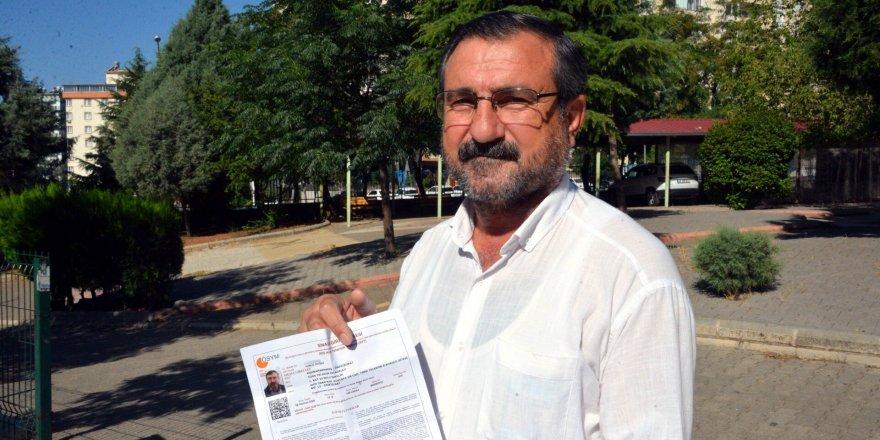 60 yaşında, doktor olmak için YKS'ye girdi