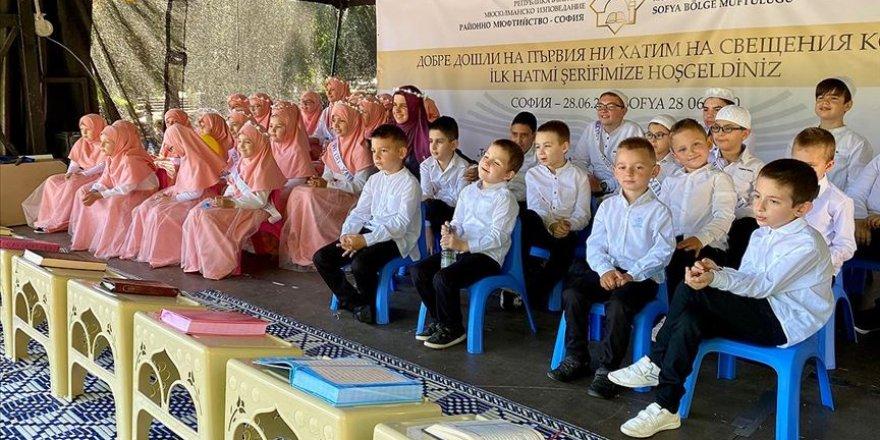 70 yıl aradan sonra Sofya'da ilk kez hatim programı düzenlendi