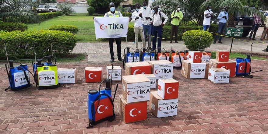 TİKA'dan Kovid-19'la mücadele kapsamında Güney Sudan'a tıbbi ekipman desteği