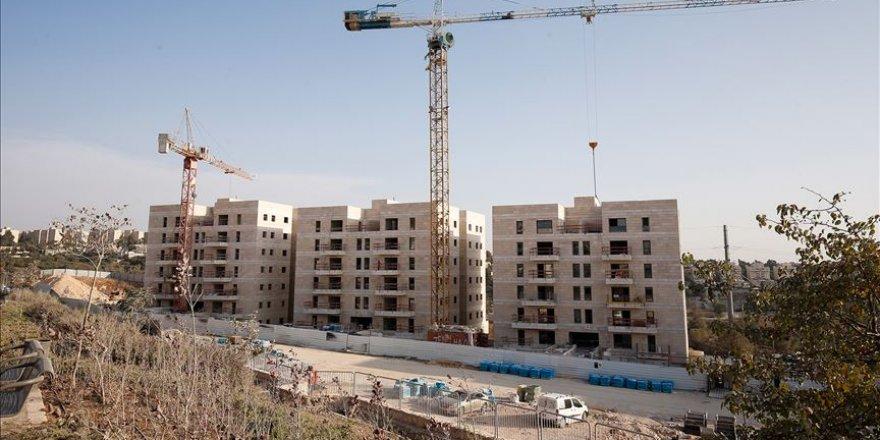 Yahudi yerleşimciler Filistinlilere ait araziye el koydu inşaata başladı