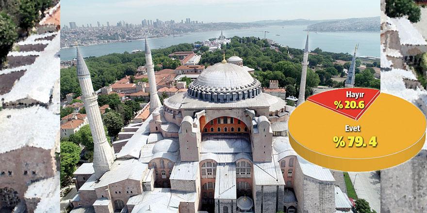 Ayasofya Camii için rekor talep
