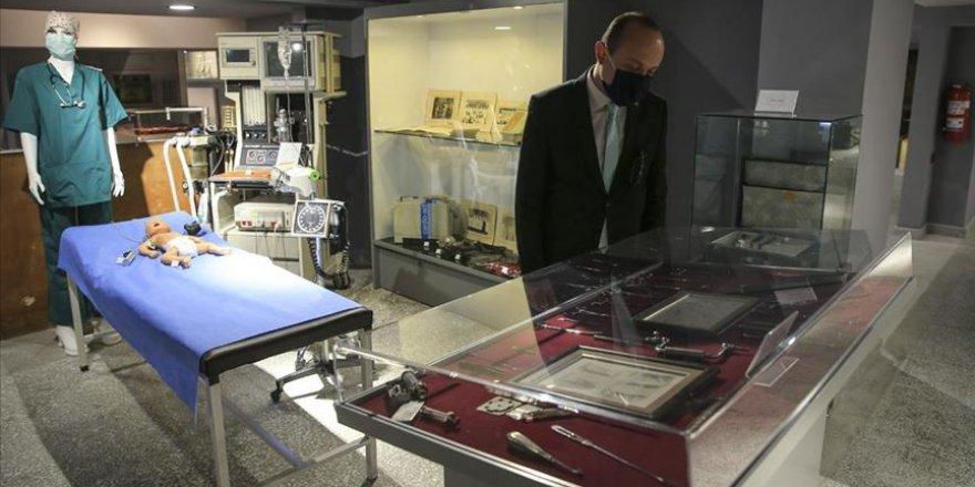 Ankara'da Tıp Fakültesi Müzesi açıldı