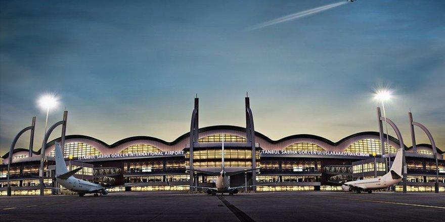 Sabiha Gökçen Havalimanı'nı günlük 61 bine yakın yolcu kullandı