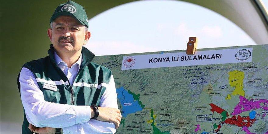 18 milyon dekar alan sulamaya açıldı