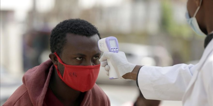 Afrika'da Kovid-19'a yakalanan kişi sayısı 614 bini geçti