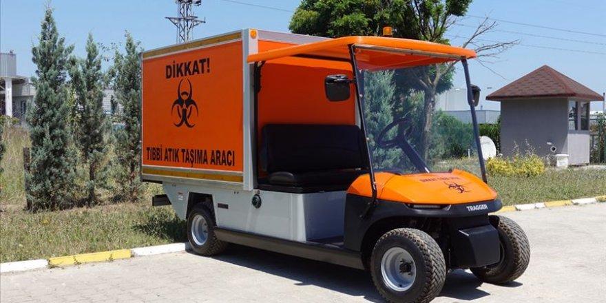 Bursa'da tıbbi atıkları elektrikli araçlar toplayacak
