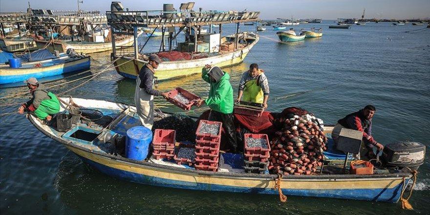 Gazze'de 6 ayda balıkçılara yönelik 172 ihlal gerçekleştirildi