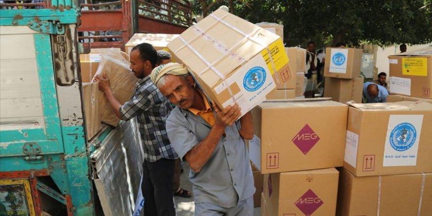 Yemen'e yapılan yardımlar 12 kat arttı