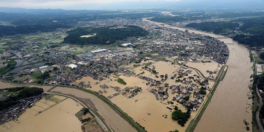 Japonya'daki sel felaketinde 16 kişi yaşamını yitirdi, 13 kişi kayboldu