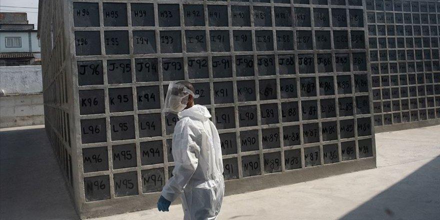 Son 24 saatte Brezilya'da 1091 Meksika'da 523 Hindistan'da 610 kişi Kovid-19 sebebiyle hayatını kaybetti