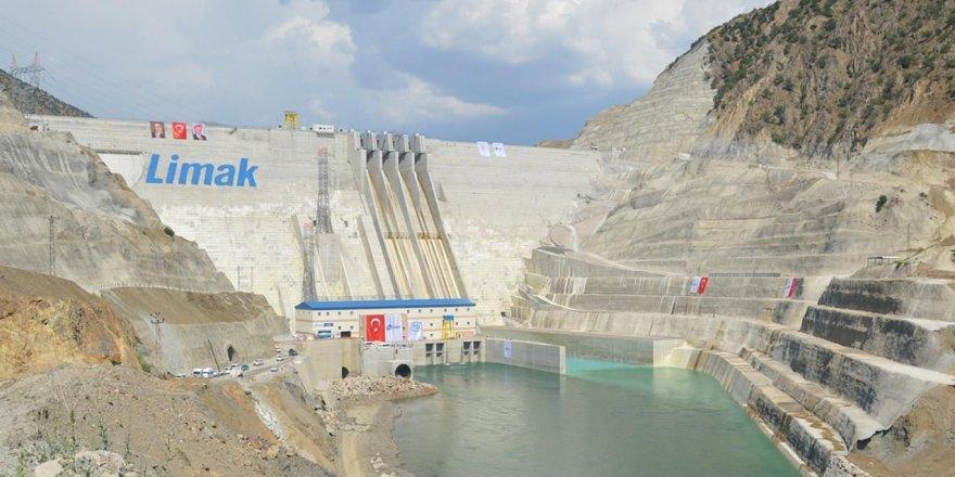 Çetin Barajı elektrik üretimine başladı
