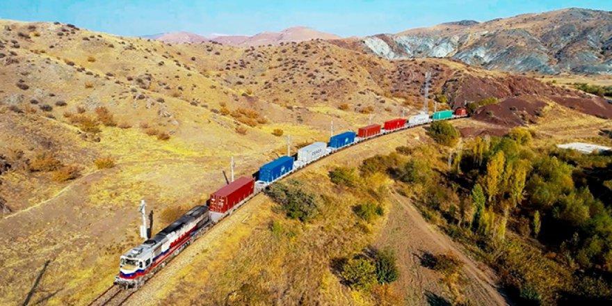 Asya-Avrupa demir yolu yük taşımacılığında Türkiye'nin rolü arttı