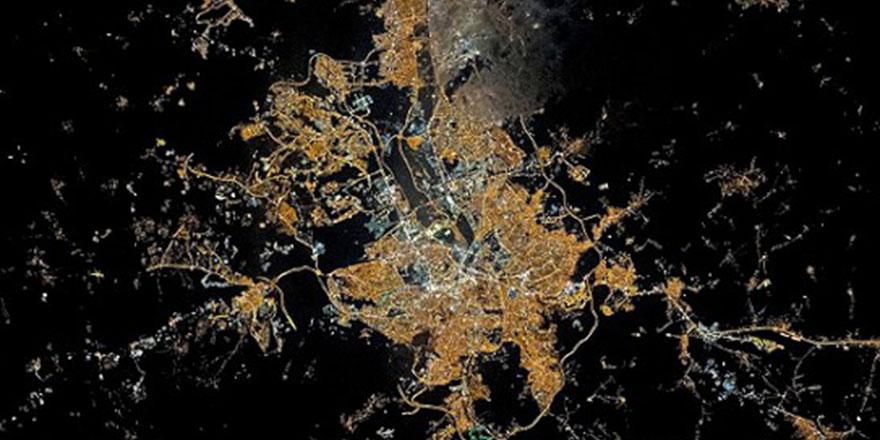 NASA, Ankara'nın uzaydan fotoğrafını çekti