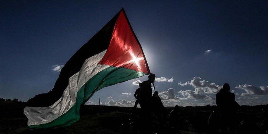 İsrail'in ilhak planını Filistinlilerce protesto edildi