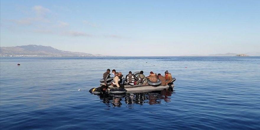 Yunanistan'ın sığınmacıları geri itmesi yasak