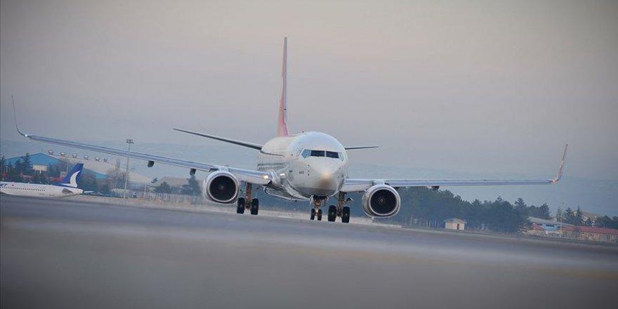 Haziranda 2 milyon 750 bin yolcu hava yoluyla taşındı