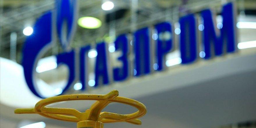 Gazprom'un doğal gaz geliri yüzde 51 geriledi