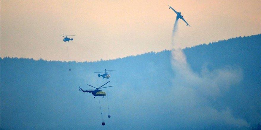 İHA ve termal dronlar ilk kez Gelibolu yangınında kullanıldı