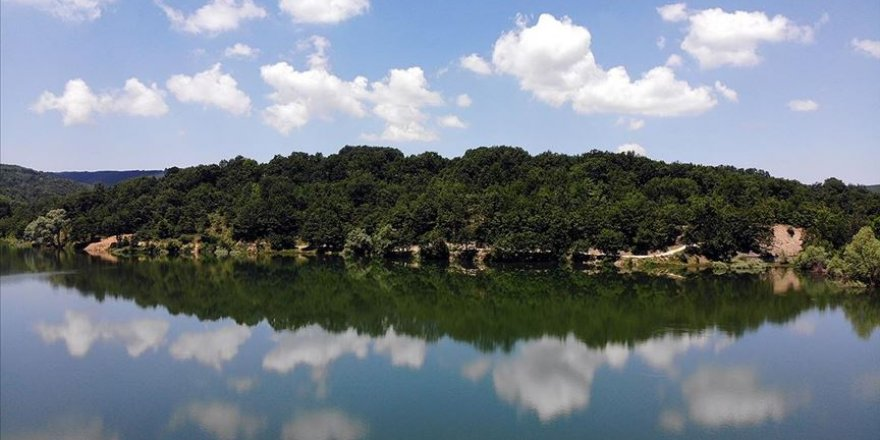 Yaratılış harikası Pazaryeri göletleriyle misafirlerini ağırlıyor