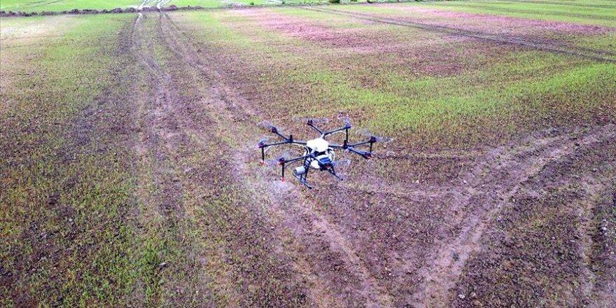 ZİHA ile tarım alanları havadan ilaçlanacak