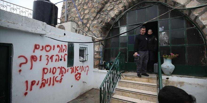Batı Şeria'da Yahudi yerleşimcilerden ırkçı saldırı