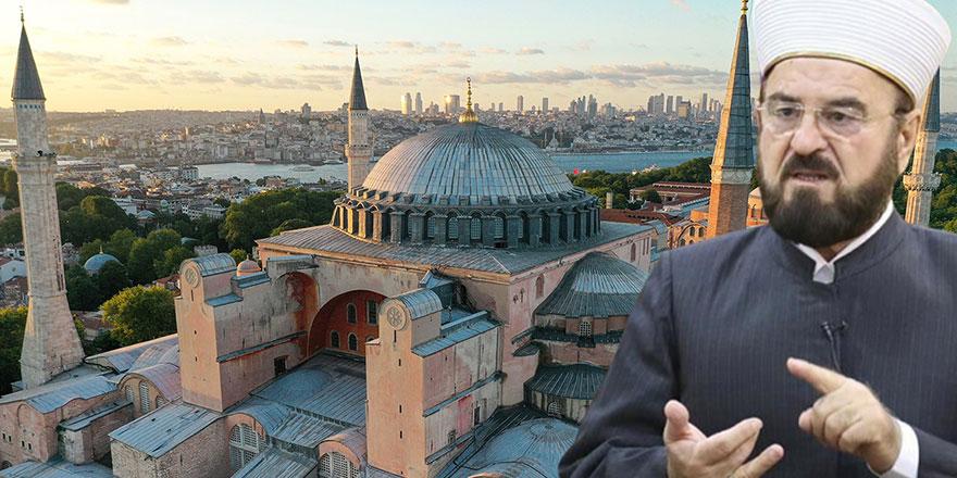 Dünya Müslüman Alimler Birliği'nde Ayasofya sevinci