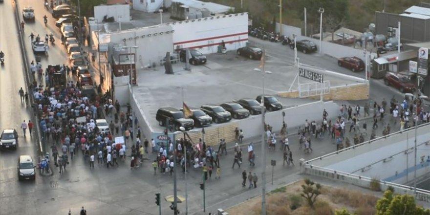 Lübnan'da ekonomik kriz gösterisi