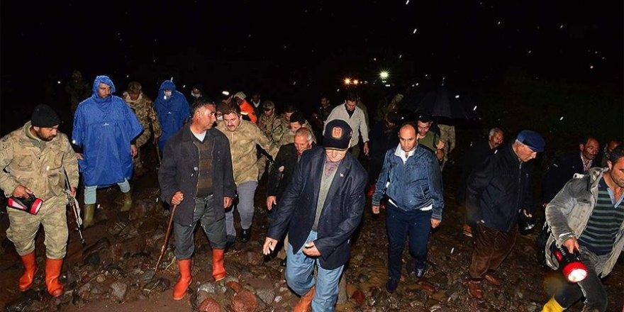 Iğdır'da sel hasara sebep oldu