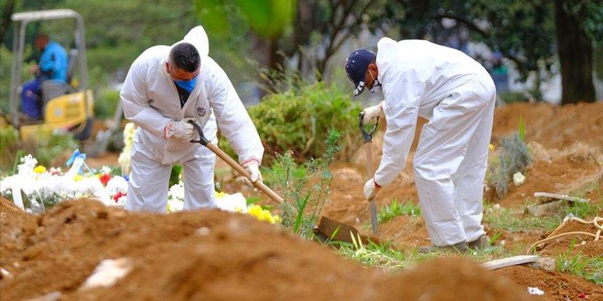 Kovid-19 sebebiyle Brezilya'da 1071, Meksika'da 539, Hindistan'da 551 kişi yaşamını yitirdi
