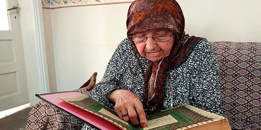 108 yaşındaki Emine nine: Ezan, namaz, Kur'an, tereyağ, bal, zeytin, et...