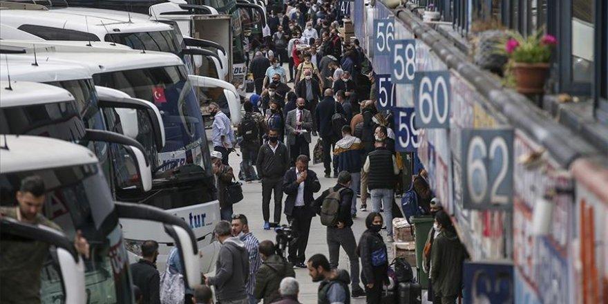 İstanbul'da günde 1150 şehirlerarası otobüs seferi yapılıyor