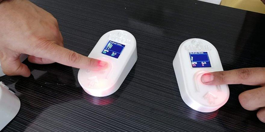 Kandaki oksijen ve nabzı aynı anda ölçen cihaz üretildi