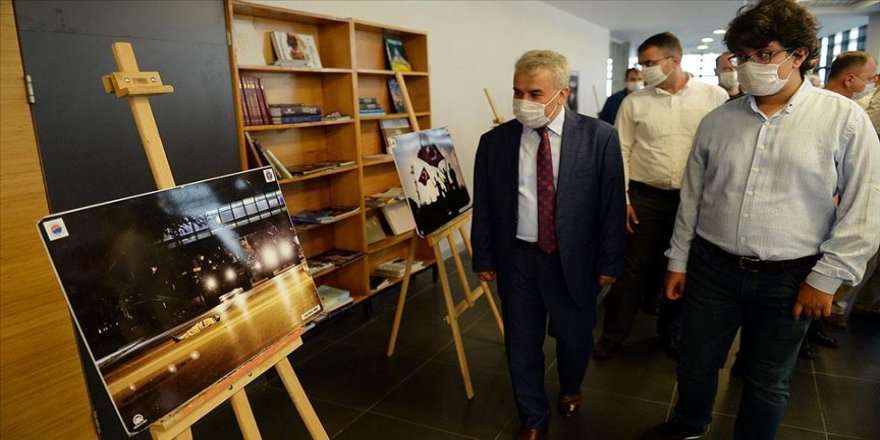 Sinop'ta '15 Temmuz Demokrasi ve Milli Birlik Günü' fotoğraf sergisi açıldı