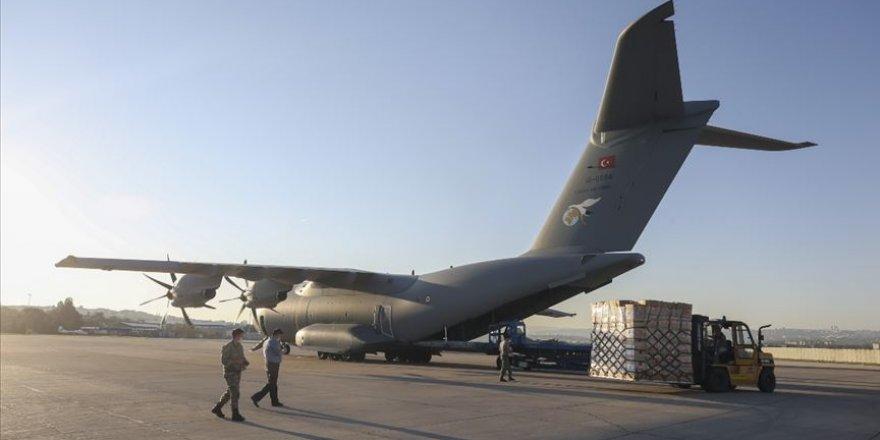 Türkiye'den gönderilen tıbbi malzeme yardımı Irak'a ulaştı