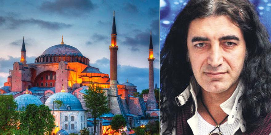 Sanatçı Murat Kekilli'den Ayasofya bestesi isteyenlere güzel bir cevap