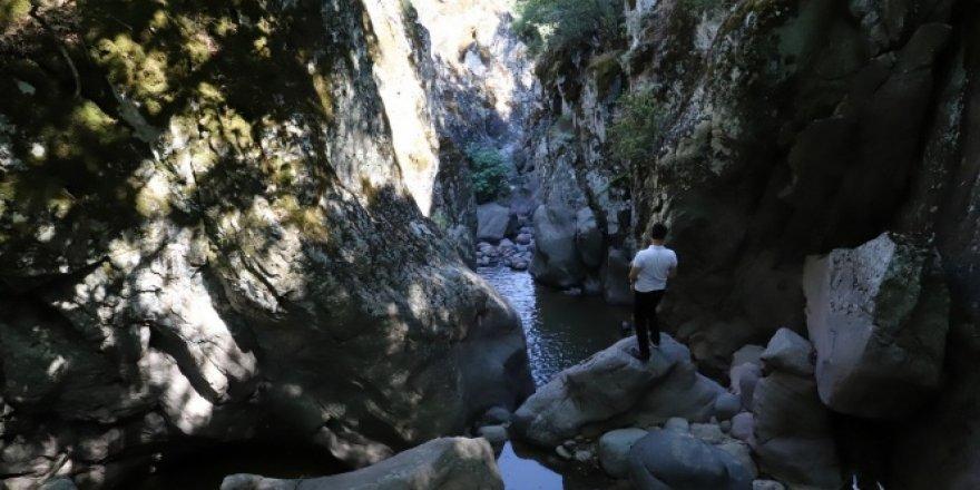 Kocadere kanyonu keşfedilmeyi bekliyor